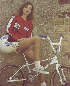 probike:  BMX chicks, Gaelle Pietri, 1. Photo by Dimitri Coste