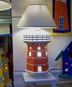 Faro lampada da tavolo di sottovento su Etsy