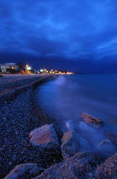 Ermioni by Night, Argolida, Greece
