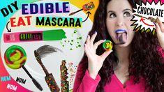 DIY EDIBLE Mascara   EAT Your Mascara   Lick Your Mascara Wand   How To ...