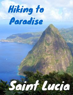 Hiking the Pitons of St Lucia provides some of the most spectacular views on the planet. Truly paradise found on the mountains of the Caribbean island of Saint Lucia.
