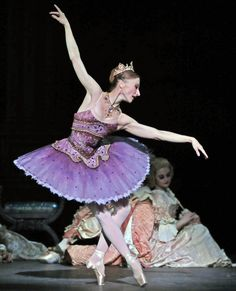 Lilac fairy - Daria Klimentova  English National Ballet's 'Sleeping Beauty'