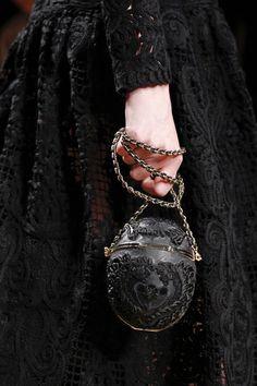 Salvatore Ferragamo, Milan Fashion Week - in my mind, a dragon's egg bag Salvatore Ferragamo, Handbag Accessories, Fashion Accessories, Yennefer Of Vengerberg, Lolita, Dark Fashion, Milan Fashion, High Fashion, Looks Cool