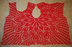 Blouse en ligne à tricoter (No. Вязание онлайн Кофточка Blouse en ligne à tricoter (No. Diy Crochet Sweater, Crochet Vest Pattern, Crochet Tank, Crochet Cardigan, Crochet Motif, Crochet Patterns, Knit Crochet, Crochet Skirts, Crochet Clothes