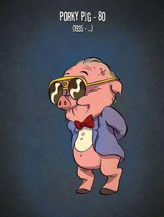 Porky Pig today...