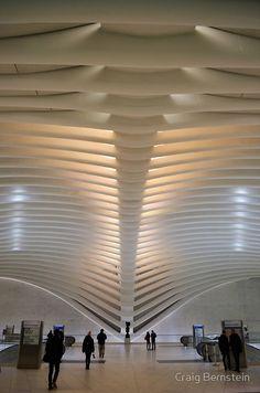 """""""Path Subway"""" Art Print by cbernstein Modern Architecture House, Interior Architecture, Interior Design, Ballrooms, Office Wall Decor, Subway Art, Ceiling Design, Framed Art Prints, Paths"""