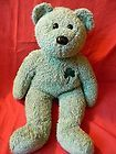 For Sale - Ty Beanie Buddies SHAMROCK Super Soft Green 2001 Teddy Bear St Patrick's