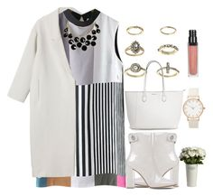 """""""Untitled #1149"""" by littledeath11 ❤ liked on Polyvore featuring Monki, Gianvito Rossi, Topshop and Kate Spade"""