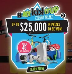 Astro Kik Contest: Win $10,000 + Weekly prizes