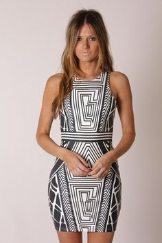 geometric prints, pattern, cocktail dresses, textile prints