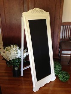 NEW Rustic Blackboard Sandwich Board Signage Wedding Business Sign Home Decor | eBay