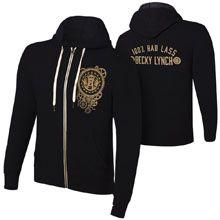 "Becky Lynch ""100% Bad Lass"" Lightweight Hoodie Sweatshirt"