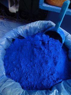 Le bleu de Chefchaouen au Maroc.