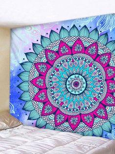 Carte Nautique Boh/ême Mandala Tapis Floral Tenture Murale Tapisserie pour D/écoration Murale Style Tribe Style Yoga Tapis