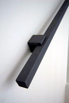 New Black Stairs Railing Banisters Ideas Staircase Handrail, Banisters, Staircase Design, Handrail Ideas, Handrail Brackets, Staircase Ideas, Staircase Remodel, Spiral Staircases, Railings For Stairs