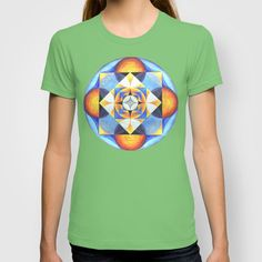 Solar Kaleidoscope (ANALOG zine) T-shirt by johngerGEOs - $18.00