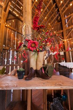 add a little latin flare to the vintage barn