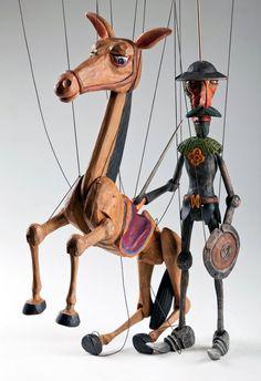 foto: Don Quichotte Czech Marionette