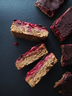 Barres Au Caramel, Jelly Cookies, Vegan Cheesecake, Cookies Et Biscuits, Cookie Bars, Superfood, Peanut Butter, Inspiration, Jelly
