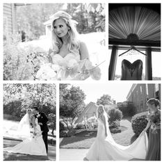 See our real bride Sharalynn in her Victor Harper Couture wedding dress from Bridal Reflections!