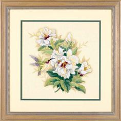 Hibiscus Floral - Embroidery Kit