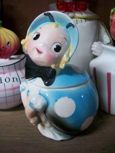 Lefton Lady Bug jar.