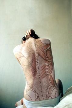 Anatomy Tattoo - this might be my favorite tattoo ever seen on a person.
