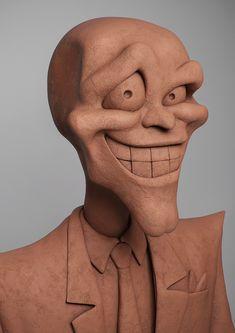 ArtStation - The Mask, Guzz Soares