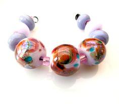 Angelic Garden Lampwork Beads SRA Kilo Lemur by TripleMoonStar, £14.00