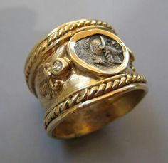 Roman gold ring, 400 BC