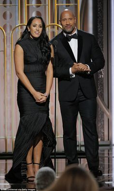 The Rock's daughter Simone, is Golden Globes Ambassador 'Incredibly proud': On Sunday night, Dwayne 'The Rock' Johnson proudly introduced his daughter Simone Garcia Johnson, at the Golden Globes Dwayne Johnson Family, The Rock Dwayne Johnson, Rock Johnson, Dwayne The Rock, Top Hollywood Actors, Hollywood Star, The Rock Daughter, The Rock Workout, Wwe The Rock