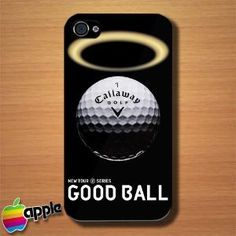 Callaway Golf Number One Good Ball Custom iPhone 4 or 4S Case Cover | Merchanstore - Accessories on ArtFire