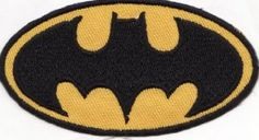 Amazon.com: Batman Logo Embroidered Iron on Patch: Arts, Crafts & Sewing  $5