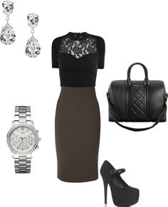 """""""Work Outfit"""" by stefaniemarie4 on Polyvore"""