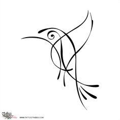 Tatuaggio di Colibrì essenziale, Carpe diem tattoo - custom tattoo designs on TattooTribes.com