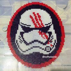 Star Wars VII perler bead art by craftysiouxsie