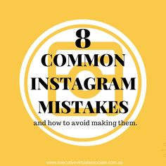 Instagram is becoming more and more popular for business use, but if you aren't seeing improvement in your engagement with fellow Instagrammers then perhaps you are making some of the more common mistakes.