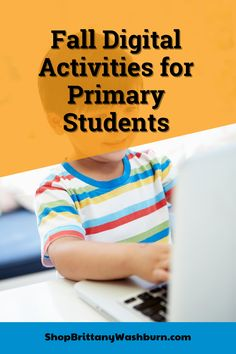 Fall themed activities for primary students. These activities are paperless and engaging! There are so many ways to use these activities that they will become a staple in your classroom. -Use as a whole class activity on an interactive whiteboard -Use as your computer station and watch students go through the activities independently! -Use as an activity during your computer lab time Computer Station, Computer Lab, First Grade Teachers, Kindergarten Teachers, Technology Lessons, Interactive Whiteboard, Class Activities, Educational Technology, Teacher Resources