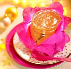 Weißes Glühweingelee  -  Ein Gelee aus Weißwein für die kalte Jahreszeit