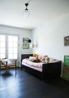 Lovely Danish children's room for my book The Scandinavian Home.