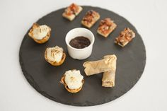 Duck Spring Rolls, Italian Bruschetta & Mini Cottage Pies Canapé