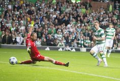 Griffiths scoring his first. The striker would net a double on the night. Leigh Griffiths, Celtic, Football, Night, Sports, Soccer, Hs Sports, Futbol, American Football