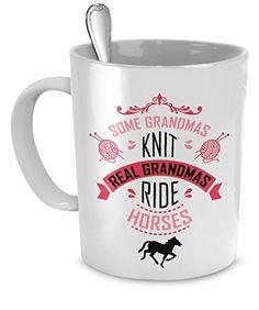 Horses mug horses mugs Real Grandmas ride Horses mug - ho...…