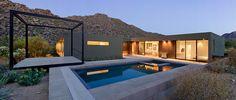 Современная резиденция Levin в пустыне Аризоны