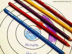 Learning How to Tell Time- Fantastic idea!