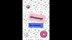 Giveaway (non materiale )!💕si vince una intro ||sweetcreation||💕