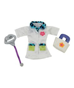 This Groovy Girls Fashions Daydream Doctor Outfit Set by Manhattan Toy is perfect! #zulilyfinds