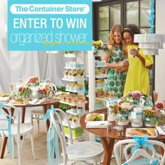 enter to win the organized shower of your dreams simply create your own pinterest board