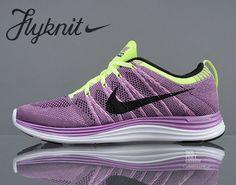 Nike Flyknit Lunar1+   Grand Purple   Black   Laser Purple   Volt