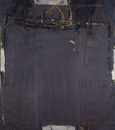 Violet Grey with Lines, a 1961 painting by Antoni Tàpies (born 13 December, died 6 February, in the collection of the National Galleries of Scotland Contemporary Abstract Art, Modern Art, Francis Picabia, Mary Cassatt, Spanish Painters, Joan Miro, Art Plastique, Monet, Abstract Art